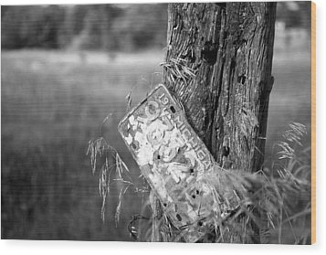Wood Print featuring the photograph Drive Me Home by John Crothers