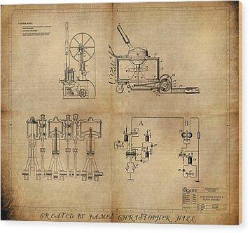 Drive System Assemblies Wood Print