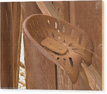 Wood Print featuring the photograph Drivers Seat by Nick Kirby