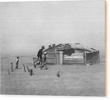 Drought Dust Storm, 1936 Wood Print by Granger