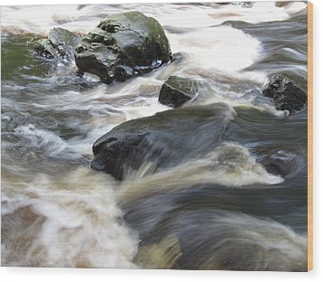 Wood Print featuring the photograph Drowning Images by Richard Reeve