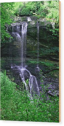 Wood Print featuring the photograph Dry Falls by Cathy Harper
