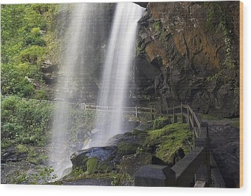 Dry Falls North Carolina Wood Print