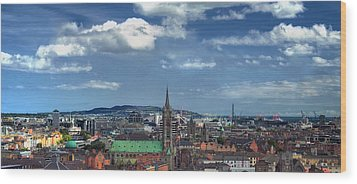 Dublin Wood Print