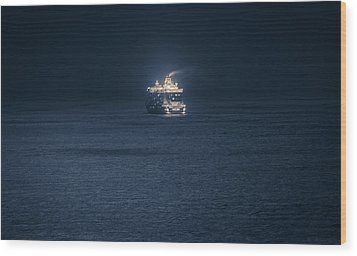 Dubrovnik Cruiser Wood Print by Matti Ollikainen