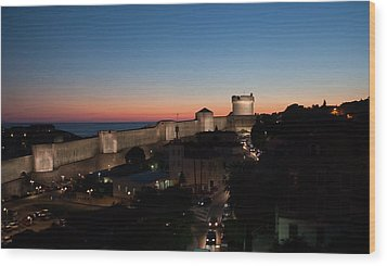 Wood Print featuring the photograph Dubrovnik by Silvia Bruno