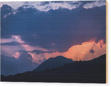 Dubrovnik Sunset Wood Print by Matti Ollikainen