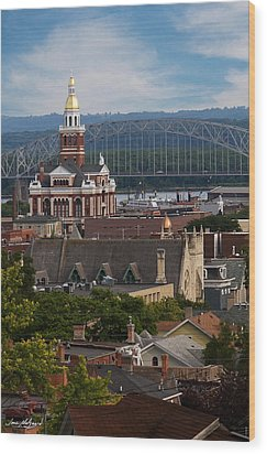 Dubuque Iowa Wood Print