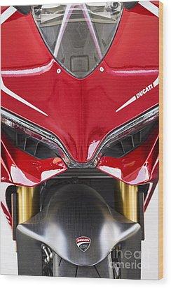 Ducati-unplugged V11 Wood Print