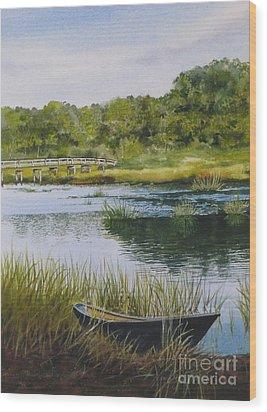 Duck Creek Wood Print by Karol Wyckoff