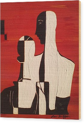 Duke And Duchess Wood Print by Lew Griffin