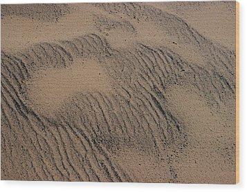 Dune Wood Print by Joseph Yarbrough