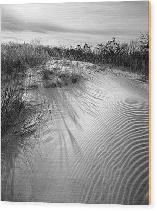 Dune Ripple Wood Print