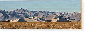 Wood Print featuring the photograph Dunes - Death Valley by Dana Sohr