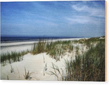 Dunes  Wood Print by Annie Snel
