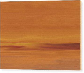 Dunes At Sunset Wood Print by Tim Stringer