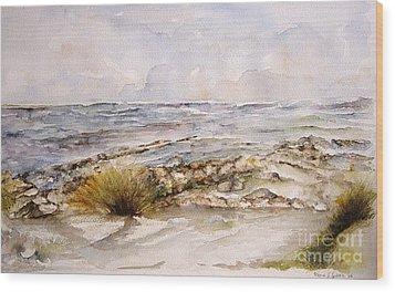 Dunes II Wood Print