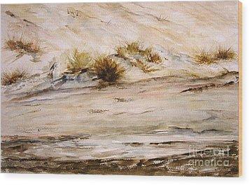 Dunes IIi Wood Print