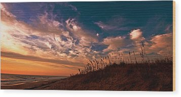 Wood Print featuring the photograph Dunes by John Harding