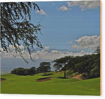 Dunes Of Maui Lani 14th Fairway Wood Print