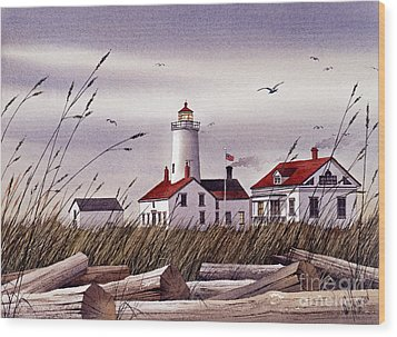 Dungeness Lighthouse Wood Print