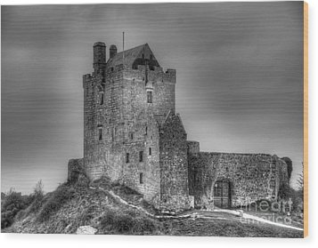 Wood Print featuring the photograph Dunguaire Castle Galway Ireland by JRP Photography