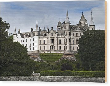 Wood Print featuring the photograph Dunrobin Castle Golspie Scotland by Sally Ross