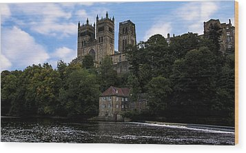 Durham Cathedral And Fulling Mill Wood Print by Trevor Kersley