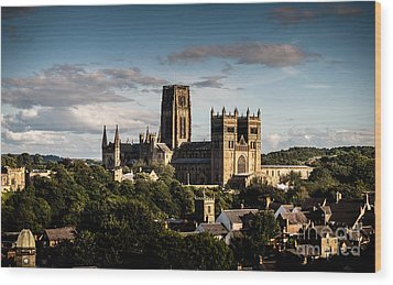 Wood Print featuring the photograph Durham Cathedral by Matt Malloy
