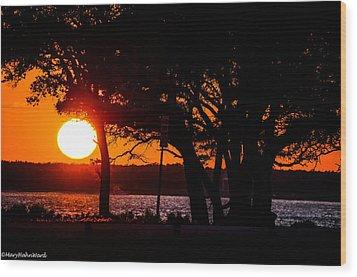 Dusky Cape Fear River  Wood Print