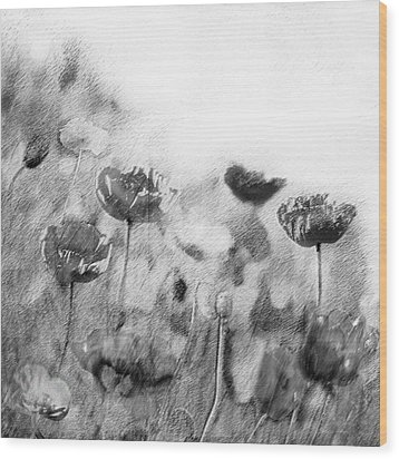 Dusky Whispers Wood Print by Linde Townsend