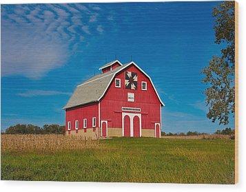 Dutch Colonial Quilt Barn Wood Print