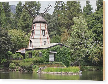 Wood Print featuring the photograph Dutch Windmill by Ivete Basso Photography