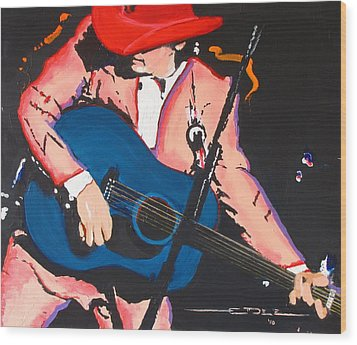 Dwight Yoakam Wood Print