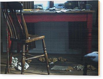 Dylan Thomas Writing Shed Wood Print
