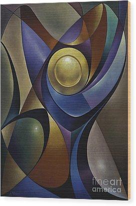 Dynamic Chalice Wood Print by Ricardo Chavez-Mendez