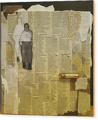 Dziadzia Wood Print