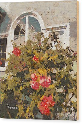 Wood Print featuring the photograph Alameda Roses by Linda Weinstock