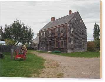 Early America Wood Print by Ron Haist