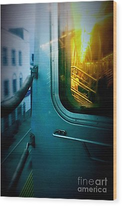 Early Morning Commute Wood Print by James Aiken