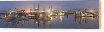 Early Morning Harbor II Wood Print by Jon Glaser