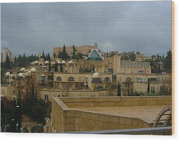Wood Print featuring the photograph Early Morning In Jerusalem by Doc Braham