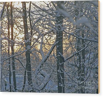 Early Morning Light Wood Print
