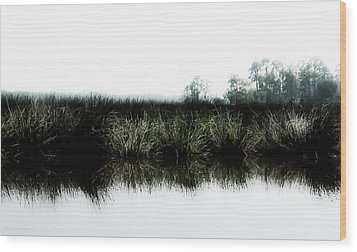 Early Morning Quiet Wood Print by Shelly Stallings