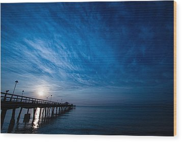 Early Morning Sunrise Wood Print by Mike Burgquist