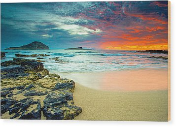 Wood Print featuring the photograph Early Morning Sunrise by Robert  Aycock