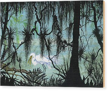 Early To Rise Wood Print by Richard Brooks