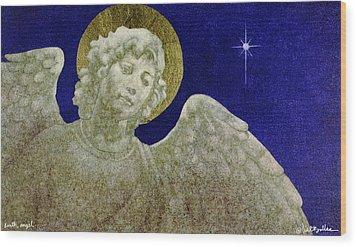 Earth Angel Wood Print by Will Bullas