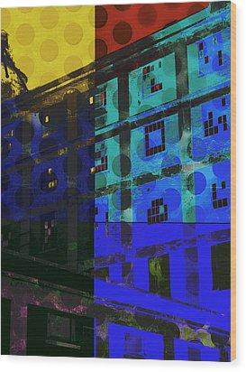 East Central Avenue Wood Print by Ann Powell