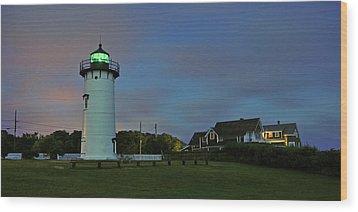 East Chop Light Wood Print